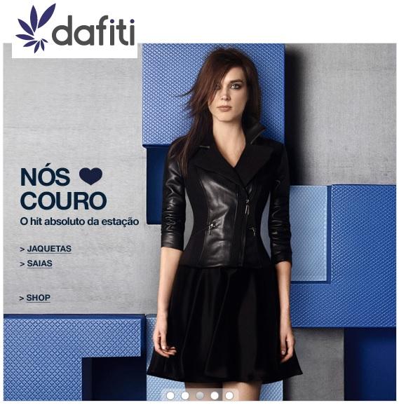 dafiti - NÓS AMAMOS COURO - Jaquetas - várias cores e modelos.